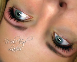 Eyelash Extensions ant Mole End Design