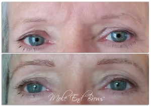 Eyebrow Extensions for sparse brows