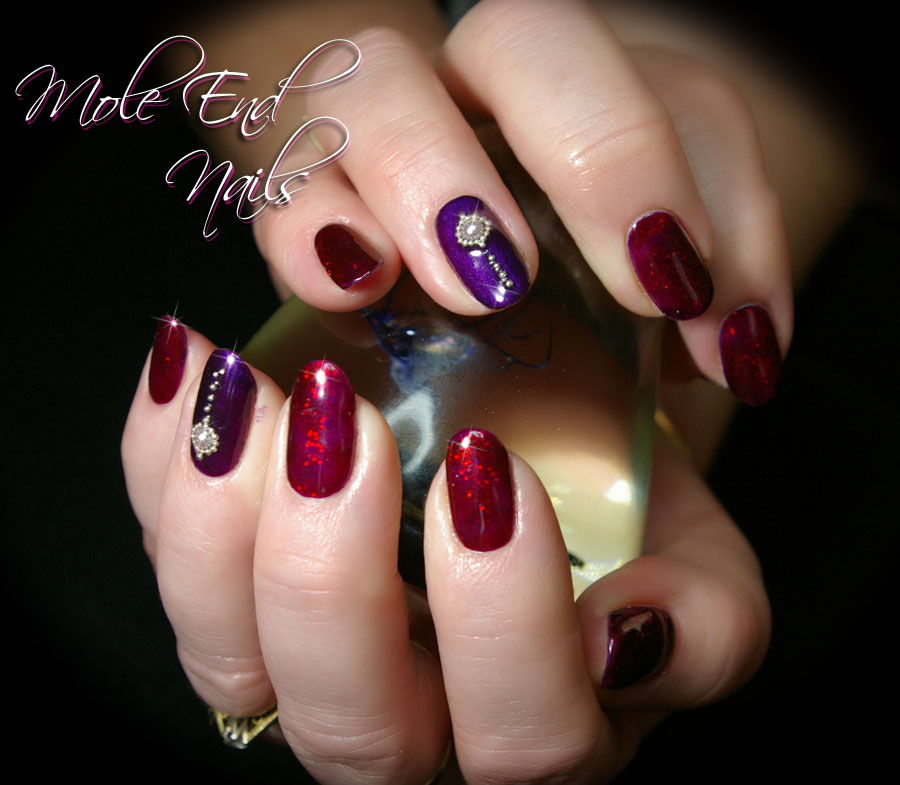 Gelish with Pearls
