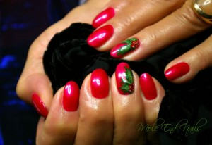 shellac holly hot chillis nails