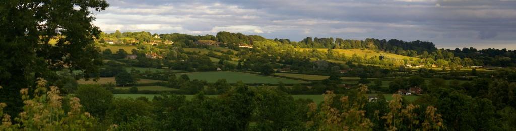 Panoramoc View over Cucklington
