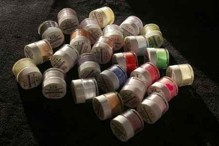 NSI coloured acrylic powders
