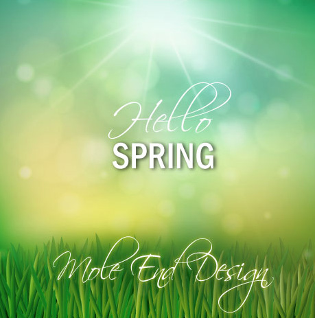 Spring at Mole End Design
