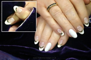 French with gold chrome smiles