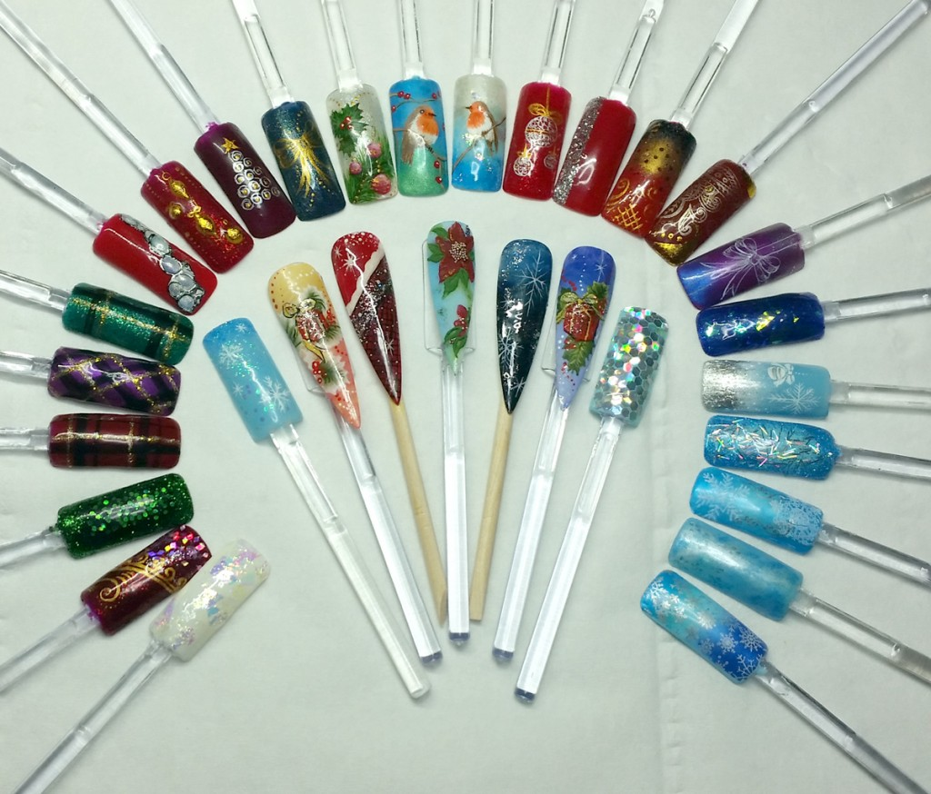 Christmas Designs Swatches