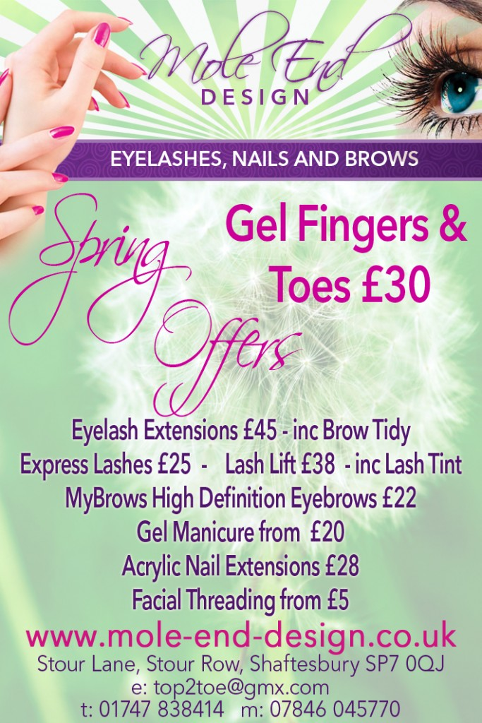 Mole End Design Spring Offers - April
