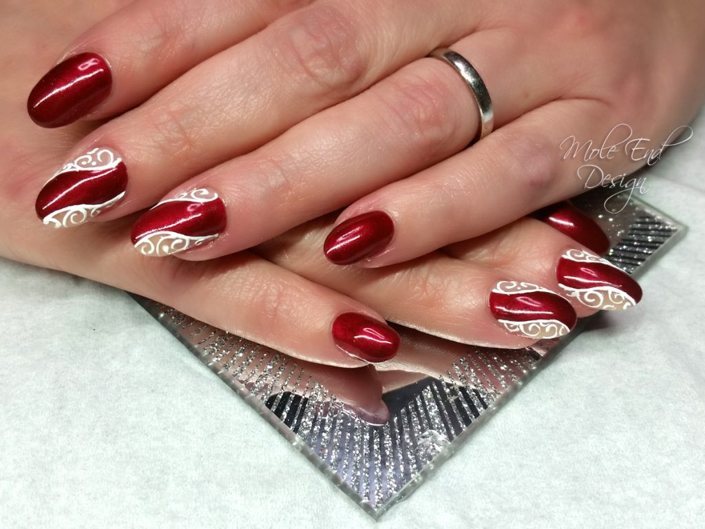 christmas nails Archives - Mole End Design