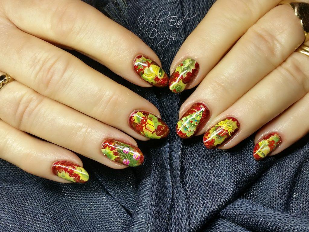 Fran xmas nails