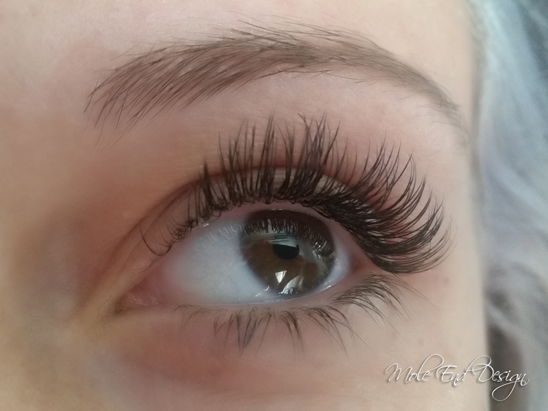 Cashmere eyelash extensions, so light