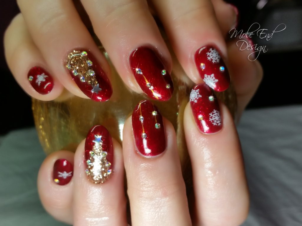 Blood Diamond with bling. Xmas Design