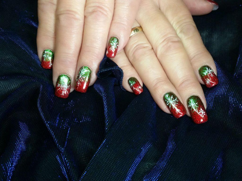 Christmas Nails At Mole End Design Shaftesbury Dorset