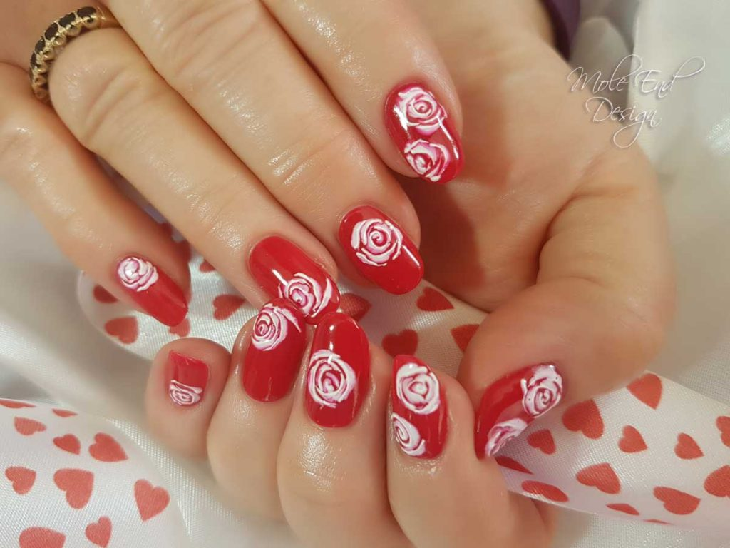 Sharm effect roses